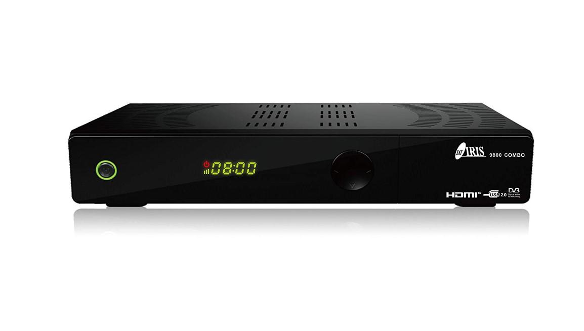 receptor iris 9800 hd combo